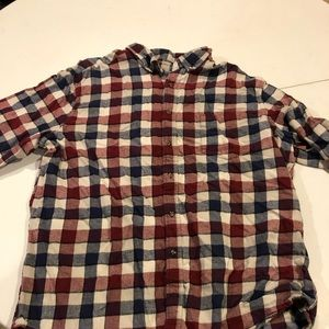 Other - Checkered men's flannel